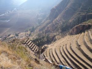 Pisaq, Peru Terraces Ruins