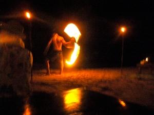 fire dancers Koh Tao Thailand