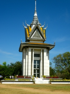Memorial for Khmer Rouge victims, Cambodia