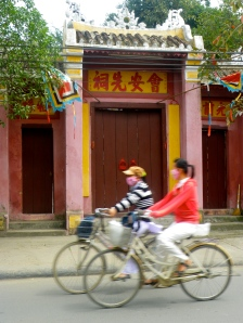 Biycles in Hoi An, Vietnam