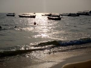 Otres Beach, Cambodia near Sihanoukville
