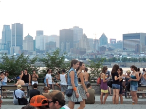 Montreal Skyline from Parc Jean-Drapeau
